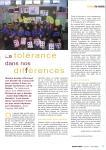2008 La tolérance dans nos différence