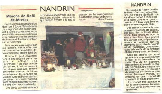 2006 Marché de Noël