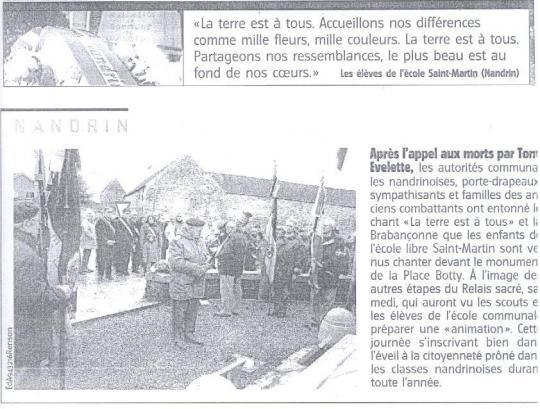 2007 Relais Sacré