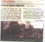 2008 Cross Saint-Martin
