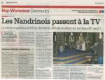 2008 Les Nandrinois passent à la TV