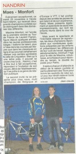 2008 Maes-Monfort
