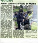 2011 Action Carême à Saint-Martin