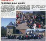2012 tambours pour la paix