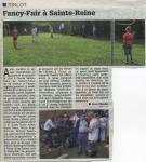 Fancy-Fair à Sainte-Reine